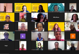 Image of participants in the four (4) day virtual workshop for the Minimum Initial Services Package (MISP) for Reproductive Health in Emergency Situations for Programme Officers in St. Lucia - April 15-23, 2021