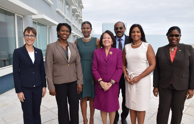 The First Ladies and Spouses of the Caribbean Network