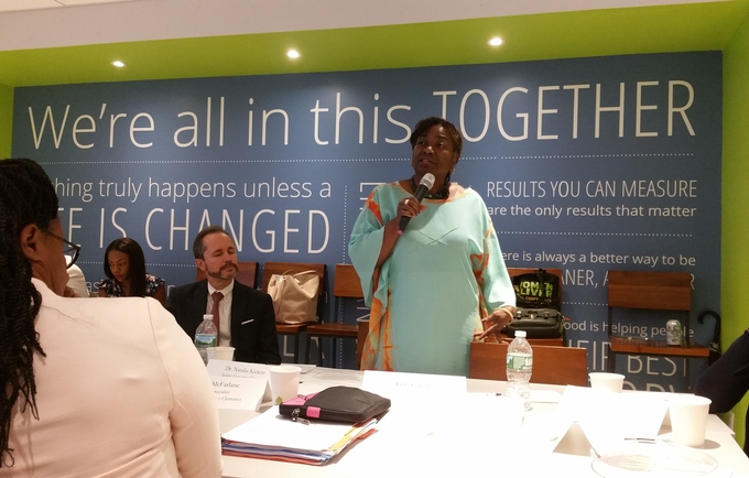 The Clinton Global Initiative (CGI): UNFPA Caribbean and partners meet with CGI stakeholders on regional health issues